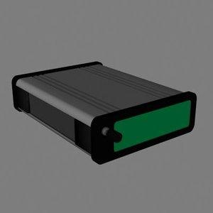 modem 3d model