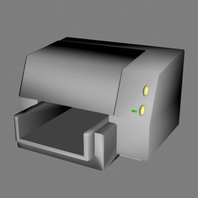 3d model printer