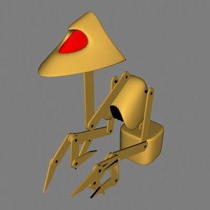 dronebot 3d model