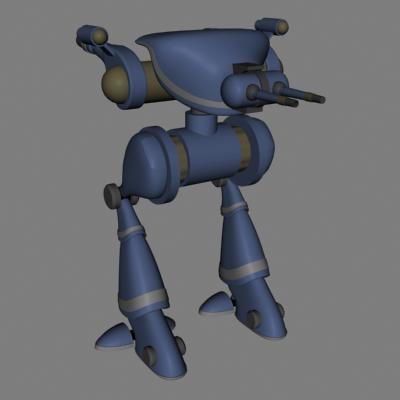 mech robot dxf
