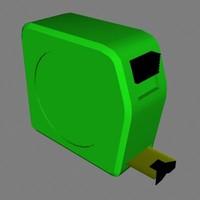 tape measure tool 3d dxf
