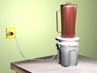 3d mixer model