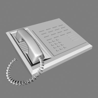 3d model of phone