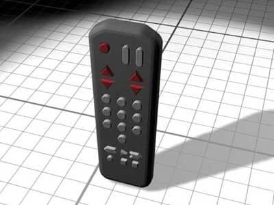 3ds max tv remote control