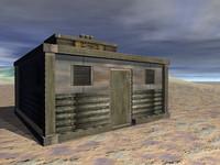 sci-fi building 3d br4