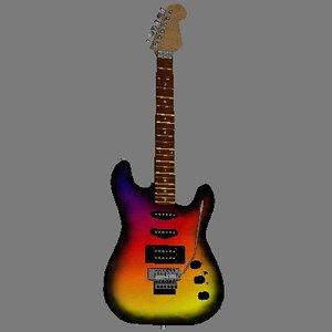 free w3d mode guitar