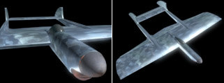 3d flying aircraft
