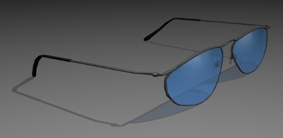 3d model shades cob sunglass