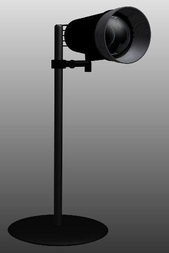 3d version lamp light