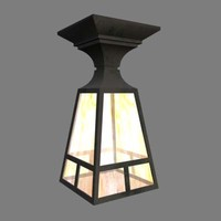 Arts   Crafts Pendant Lamp02.3ds.zip