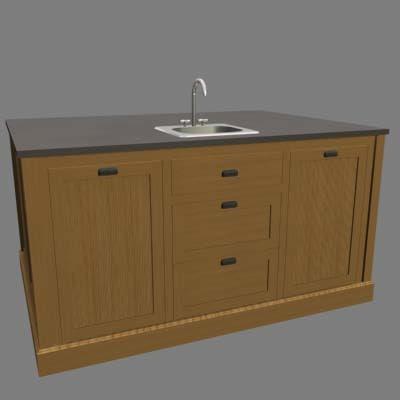 crafts kitchen 3d model