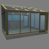greenhouse building 3ds