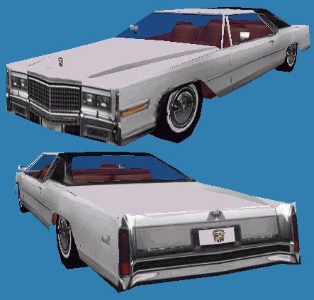 3d 3ds cadillac eldorado caddy