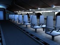airplaine interior01.max