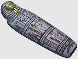 pharaoh coffin 3d model