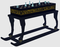 senet treasure 3d model