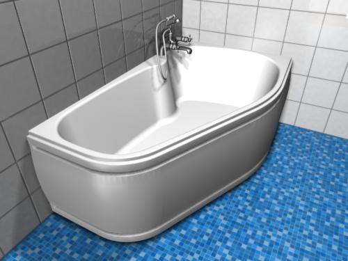 bathtub 3d 3ds
