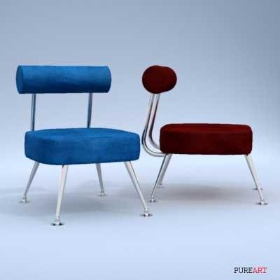3d leather skin furniture