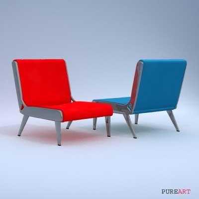 3dsmax arm chair
