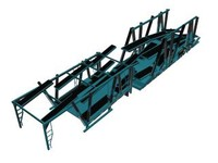 car carrier trailer 3d max