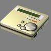 3d minidisc recorder player model