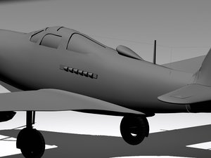 plane airplanes 3d model
