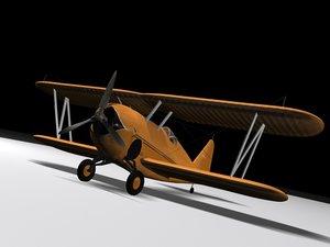 3ds max plane gulfhawk airplanes