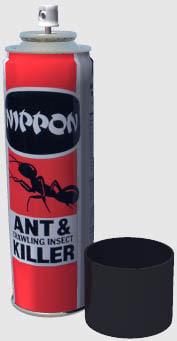 aerosol spray 3d model