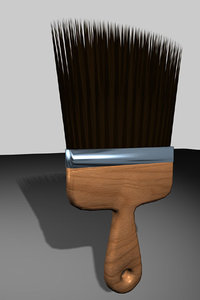 paint brush drs 3d model