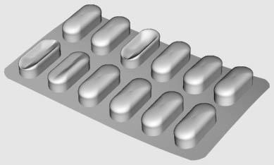 tablets capsules 3d model