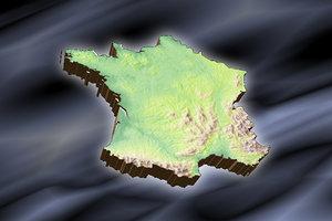 topographic france lwo