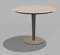 free table studio2a 3d model
