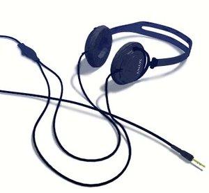 stereo headphones head 3d model