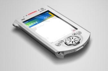 3d model compaq ipaq