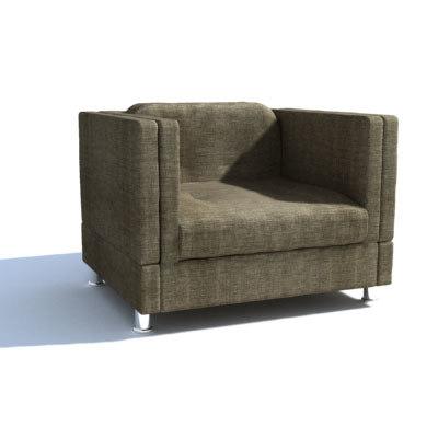 armchair cobbo 3d model