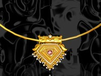 jewelery neckless 3d max