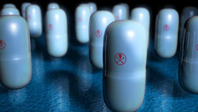pill array 3d max