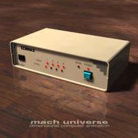 edimax cpu 3d model