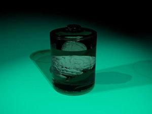 glass jar brain dxf