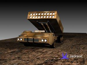 3d model vehicle