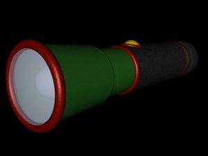 3ds max flashlight light