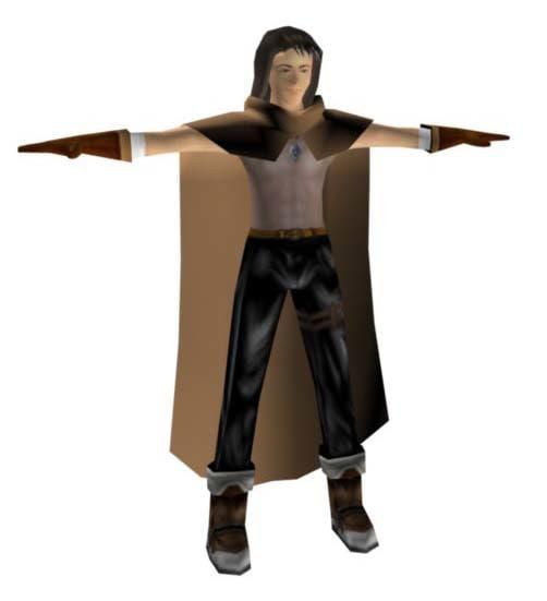 3d model character fantasy