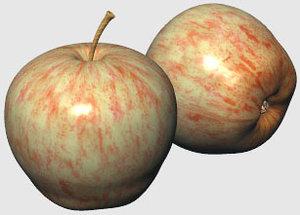 apple produces 3d model