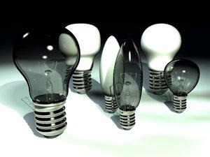 lightbulbs lights bulb 3d model