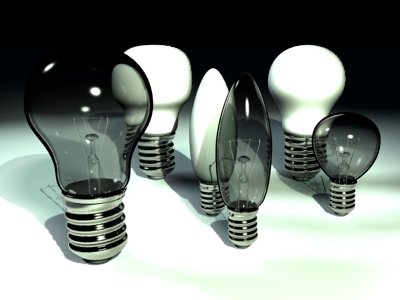lightbulbs lights bulb 3d model