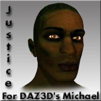 3d model justice character