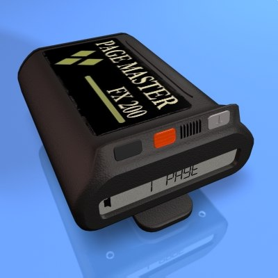 3ds max pager