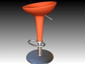 bombo stool 3d model