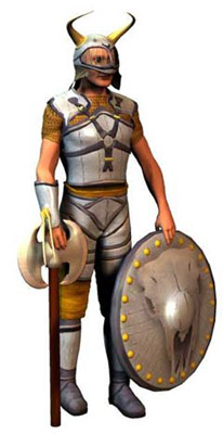 conforming armor male 3d model