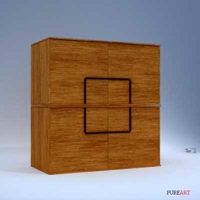 alino dresser sideboard 3d max